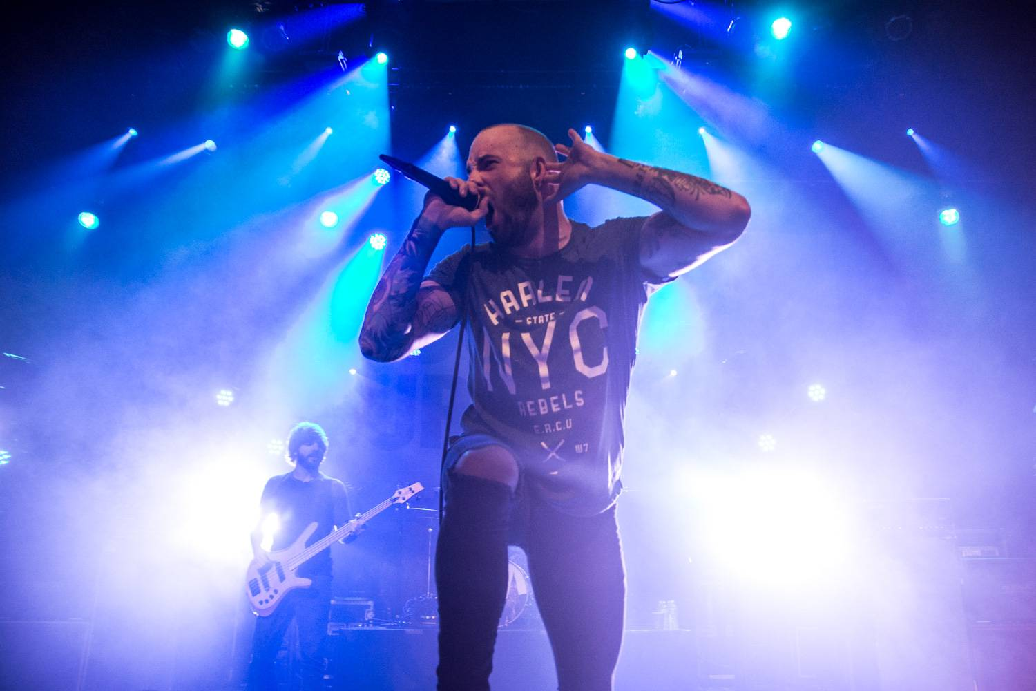 August Burns Red at the Vogue Theatre, Vancouver, Mar. 2016. Pavel Boiko photo.