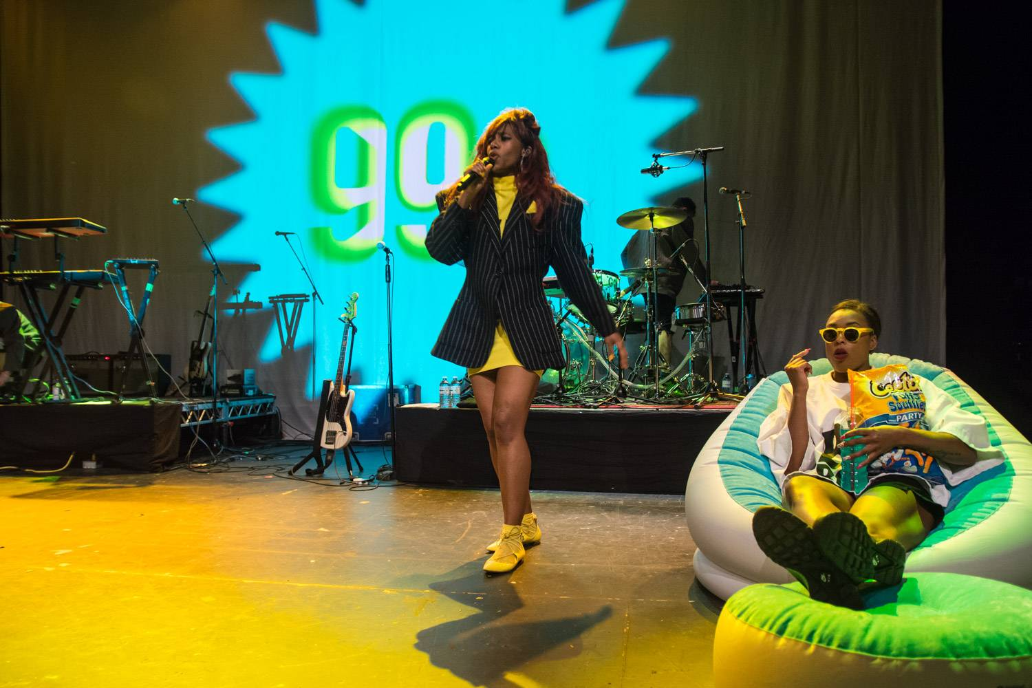 Santigold at the Vogue Theatre, Vancouver, May 12 2016. Pavel Boiko photo.