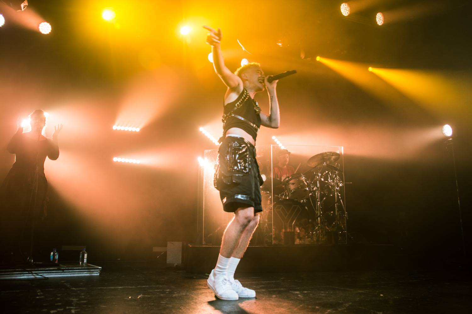 Years & Years at the Commodore Ballroom, Vancouver, Apr. 29 2016. Pavel Boiko photo.