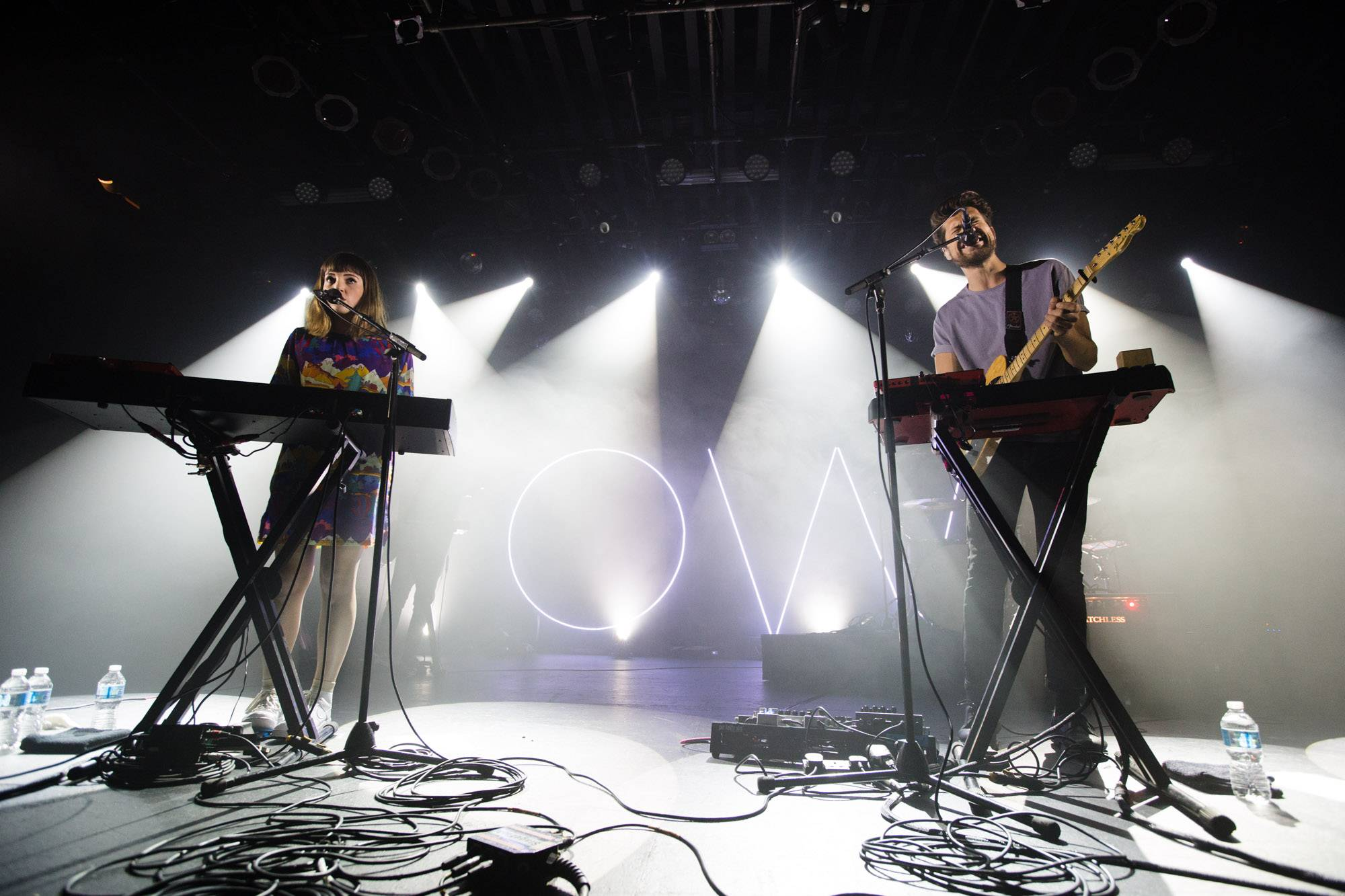 Oh Wonder at the Commodore Ballroom, Vancouver, May 28 2016. Kirk Chantraine photo.