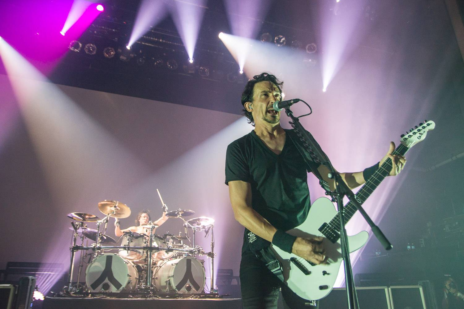 Gojira at the Vogue Theatre, Vancouver, Oct. 9 2016. Pavel Boiko photo.