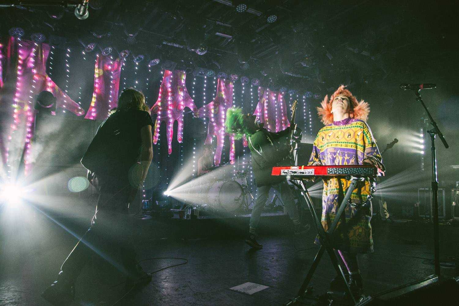 Grouplove at the Commodore Ballroom, Vancouver, Oct. 10 2016. Pavel Boiko photo.