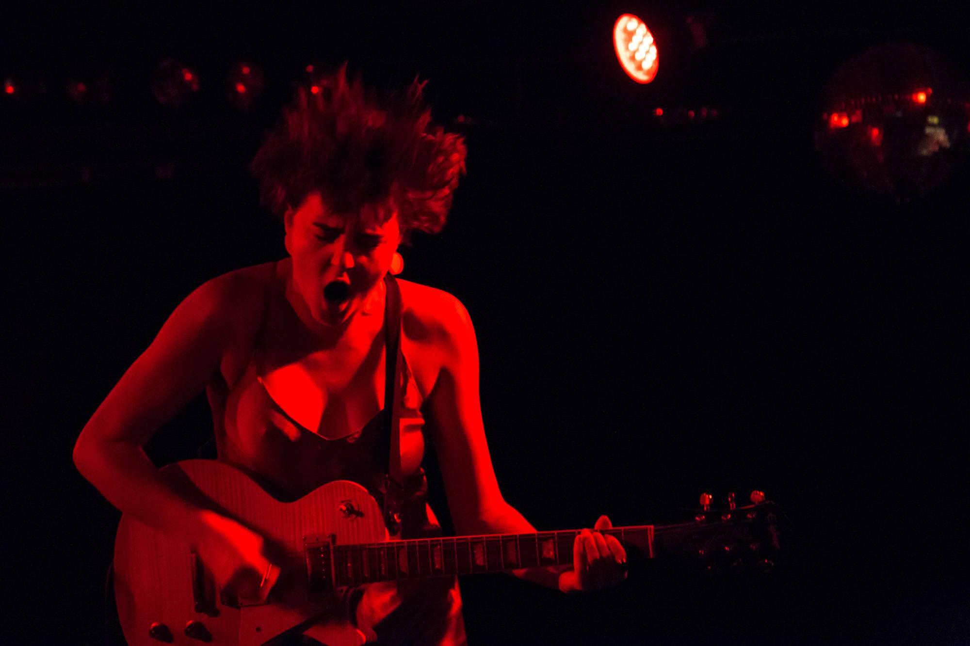 Francesca Belcourt at the Biltmore Cabaret, Vancouver, Nov. 16 2016. Kirk Chantraine photo.