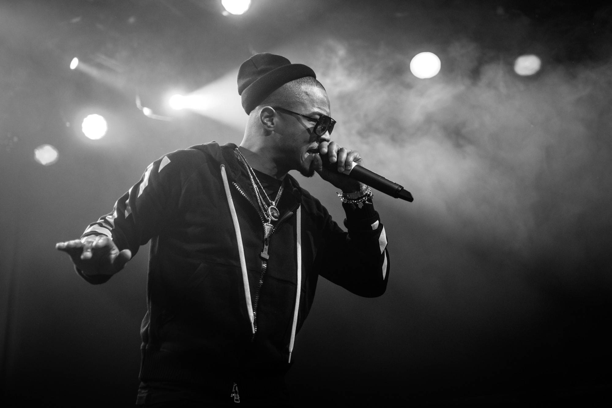 T.I. at the Commodore Ballroom, Vancouver, Jan. 12 2017. Jason Martin photo.