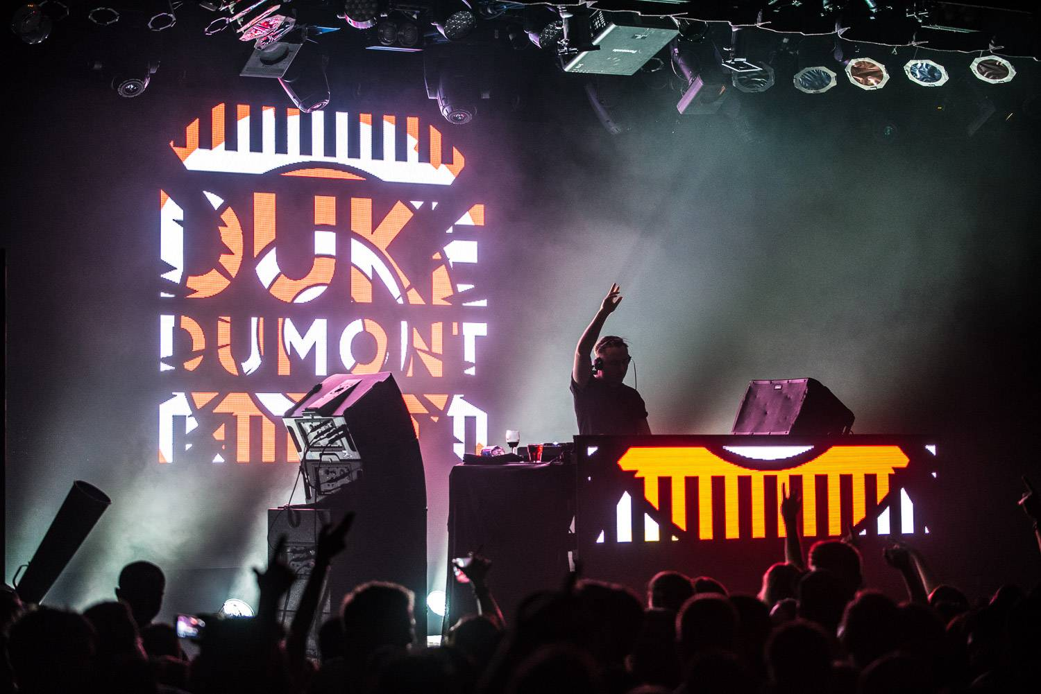 Duke Dumont at the Commodore Ballroom, Vancouver, Apr. 7 2017. Pavel Boiko photo.