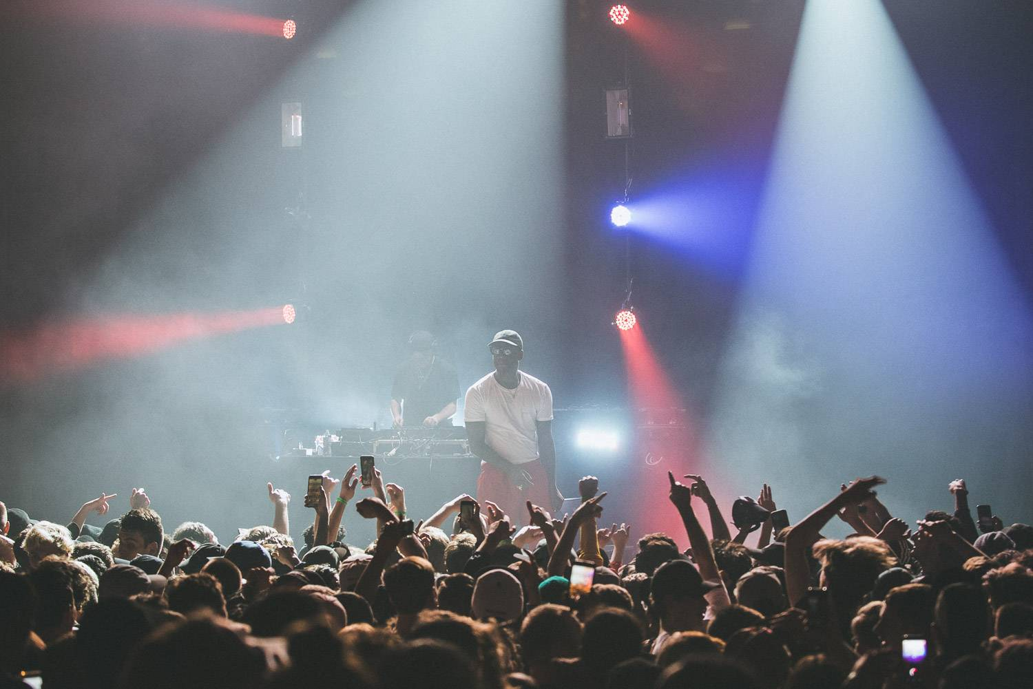 Skepta at The Vogue Theatre, Vancouver, Apr. 19 2017. Pavel Boiko photo.