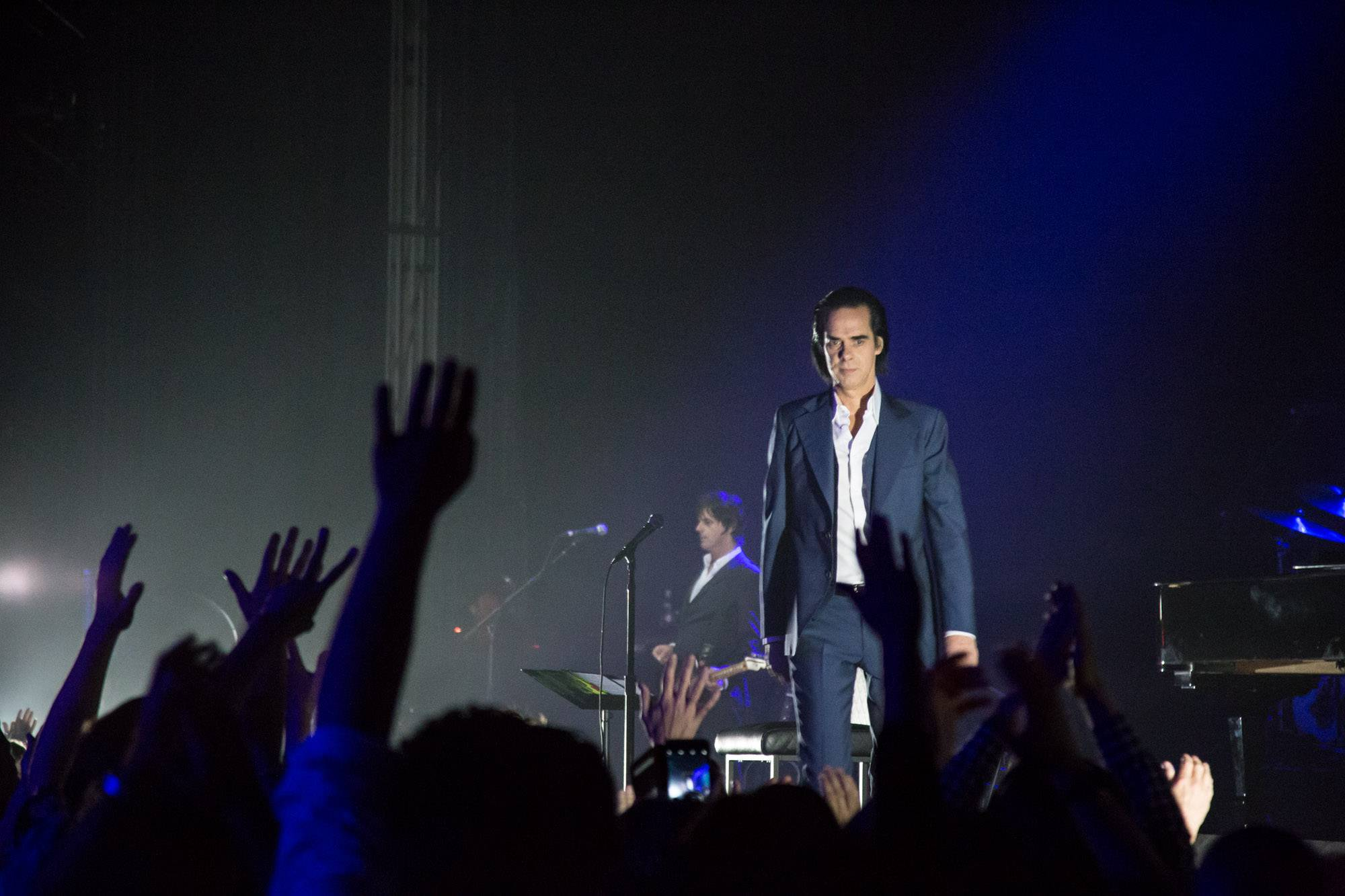 Nick Cave and the Bad Seeds at the Queen Elizabeth Theatre, Vancouver, June 22 2017. Kirk Chantraine photo.