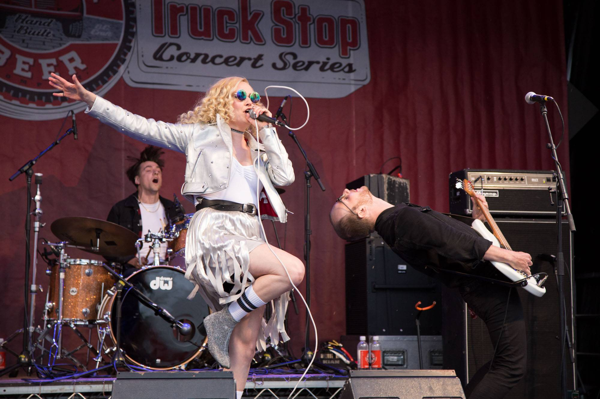 Youngblood at the 2017 Truck Stop Concert Series, Vancouver, Jun. 17 2017. Kirk Chantraine photo.