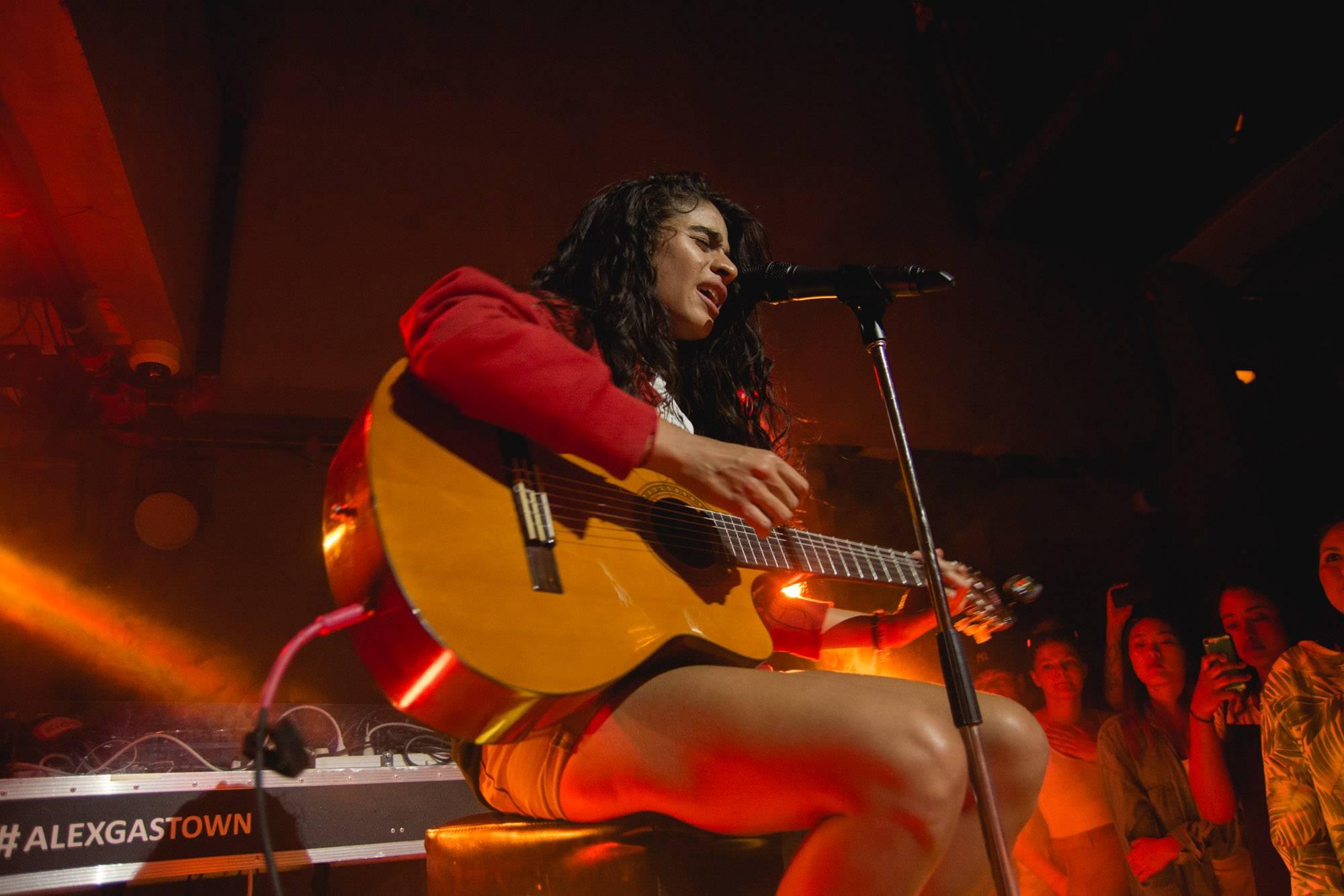 Jessie Reyez at the Alexander, Vancouver, July 2 2017. Audrey Alexandrescu photo.