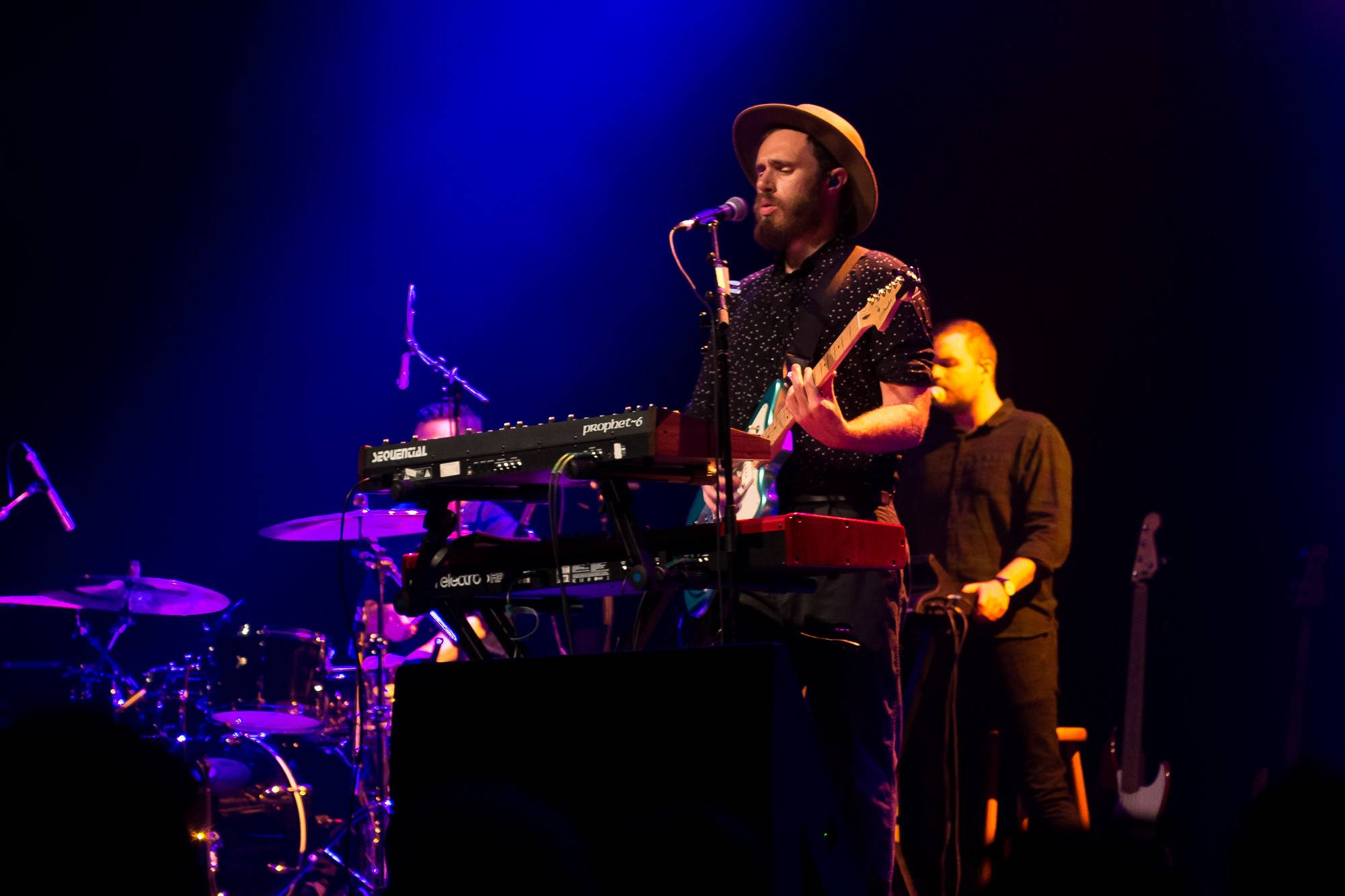 James Vincent McMorrow at the Vogue Theatre, Vancouver, Aug 15 2017. Jessica Vandergulik photo.