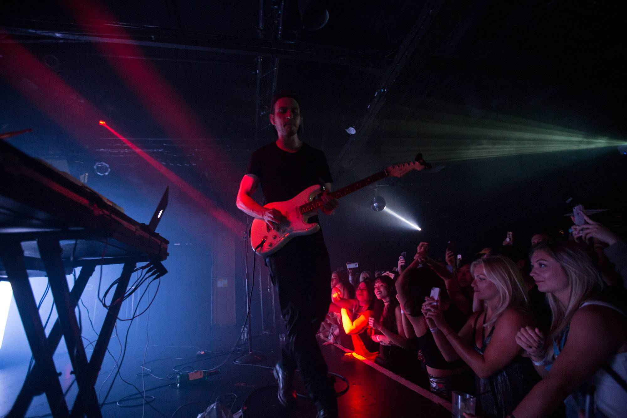 Two Feet at the Echoplex, Los Angeles, Aug 8 2017. Kirk Chantraine photo.