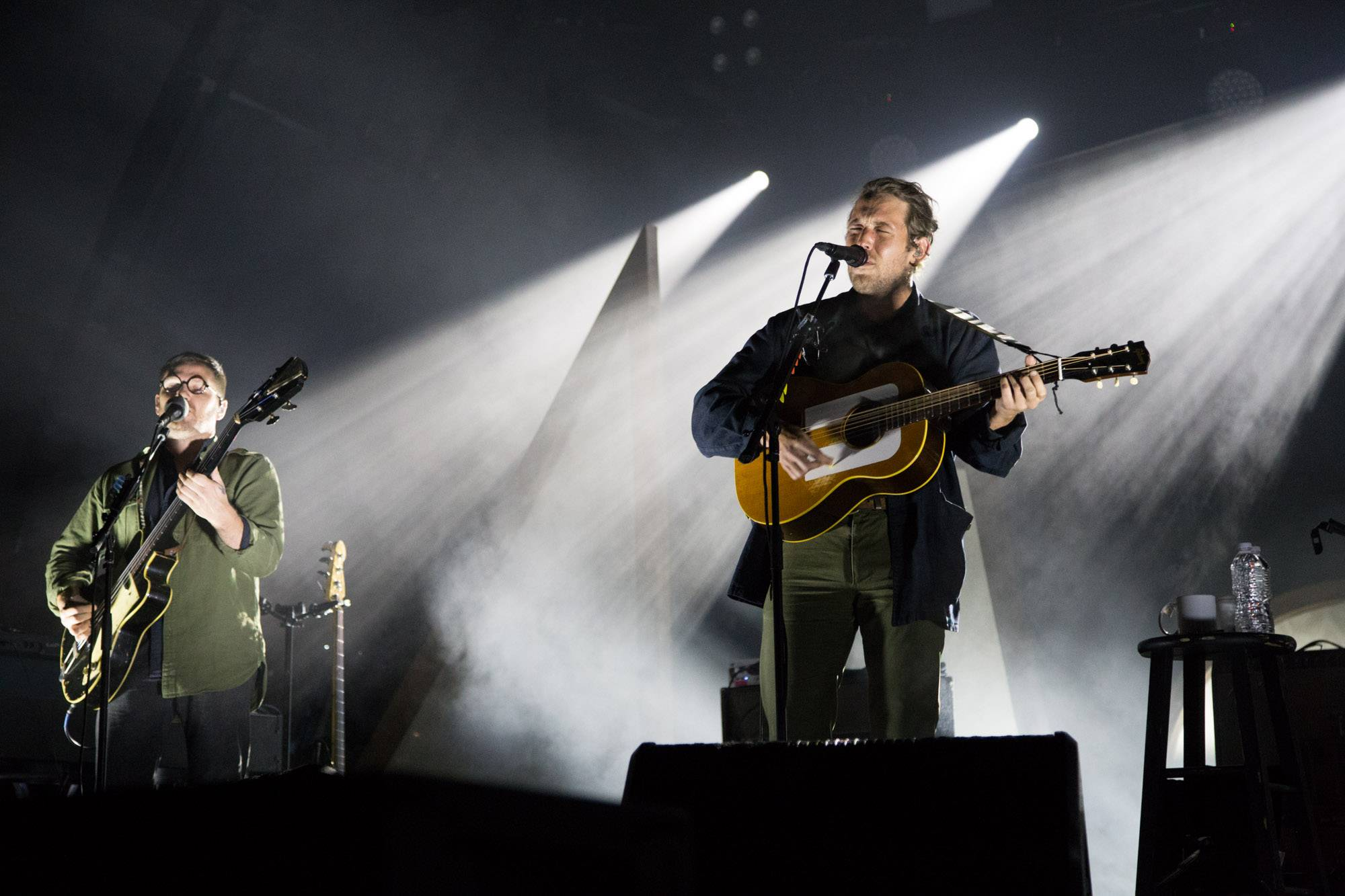 Fleet Foxes at the Malkin Bowl, Vancouver, Sept 13 2017. Kirk Chantraine photo.