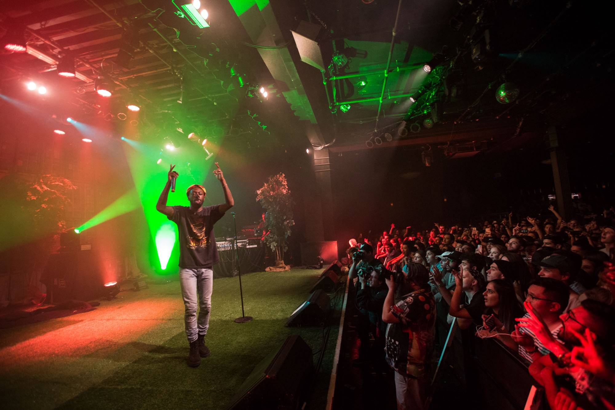 Goldlink at the Commodore Ballroom, Vancouver, Sept 27 2017. Kirk Chantraine photo.