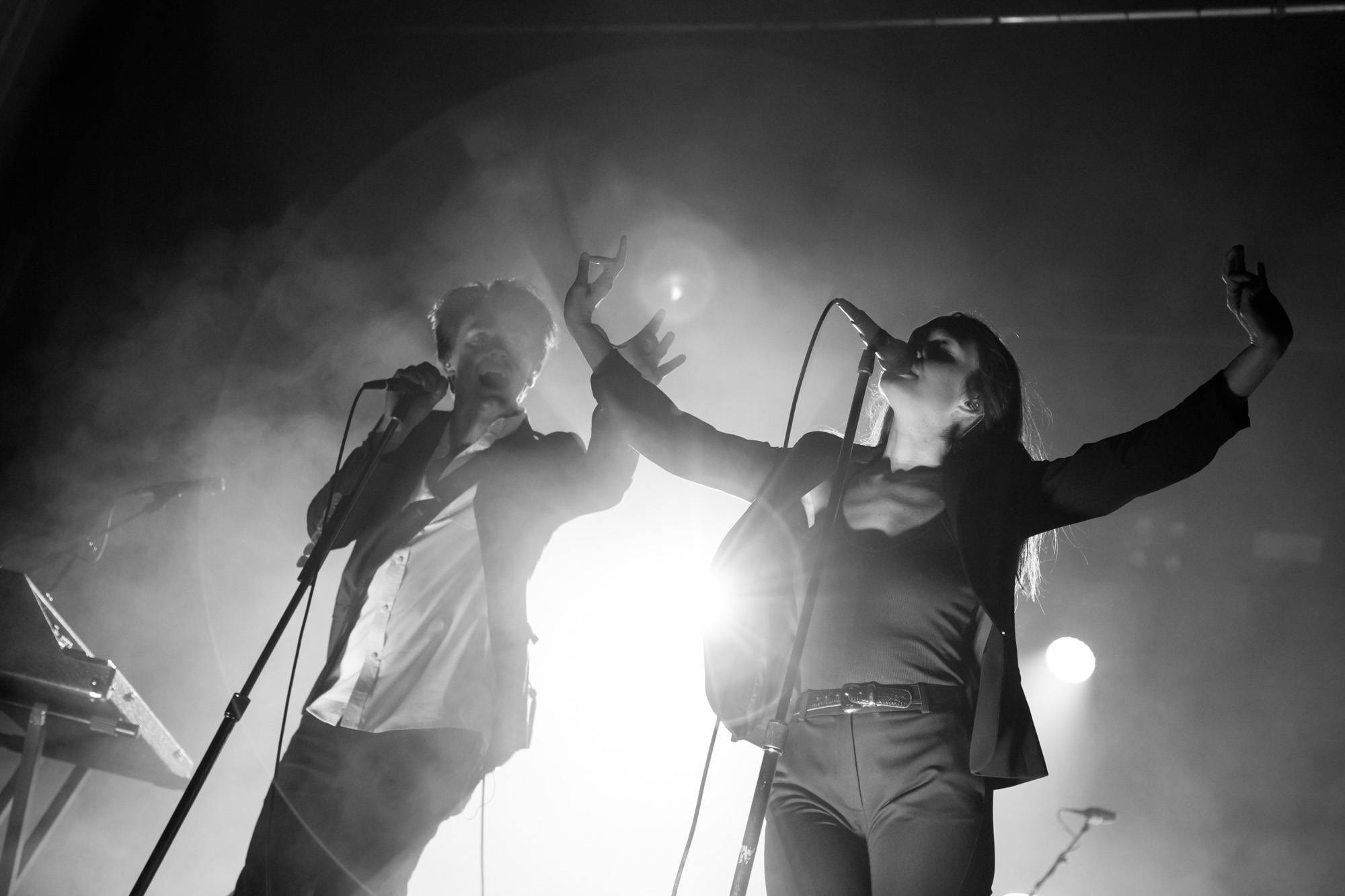 July Talk at Malkin Bowl, Vancouver, Sept 16 2017. Kirk Chantraine photo.
