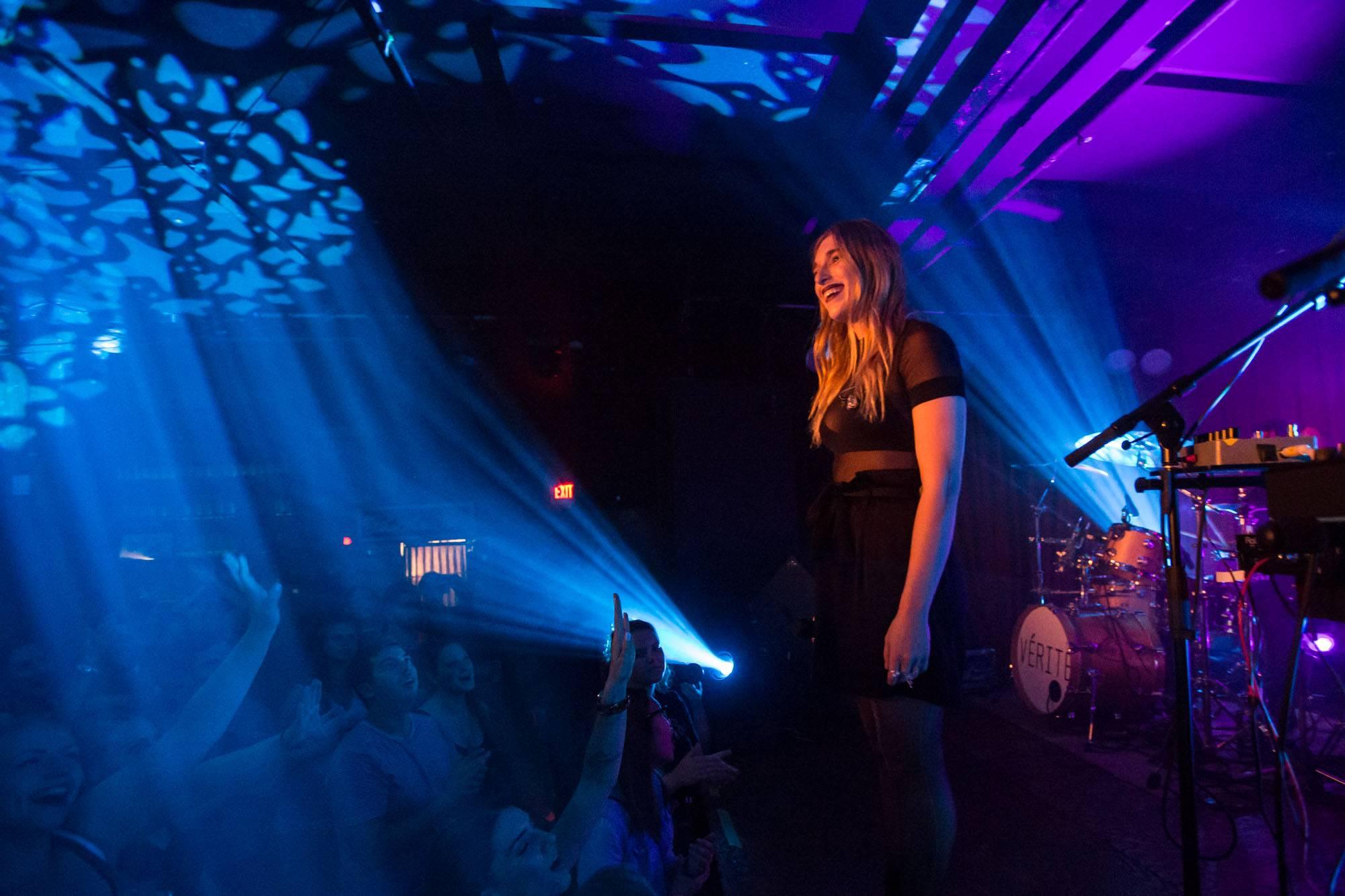 Vérité at the Cobalt Cabaret, Vancouver, Sept 2 2017. Kirk Chantraine photo.