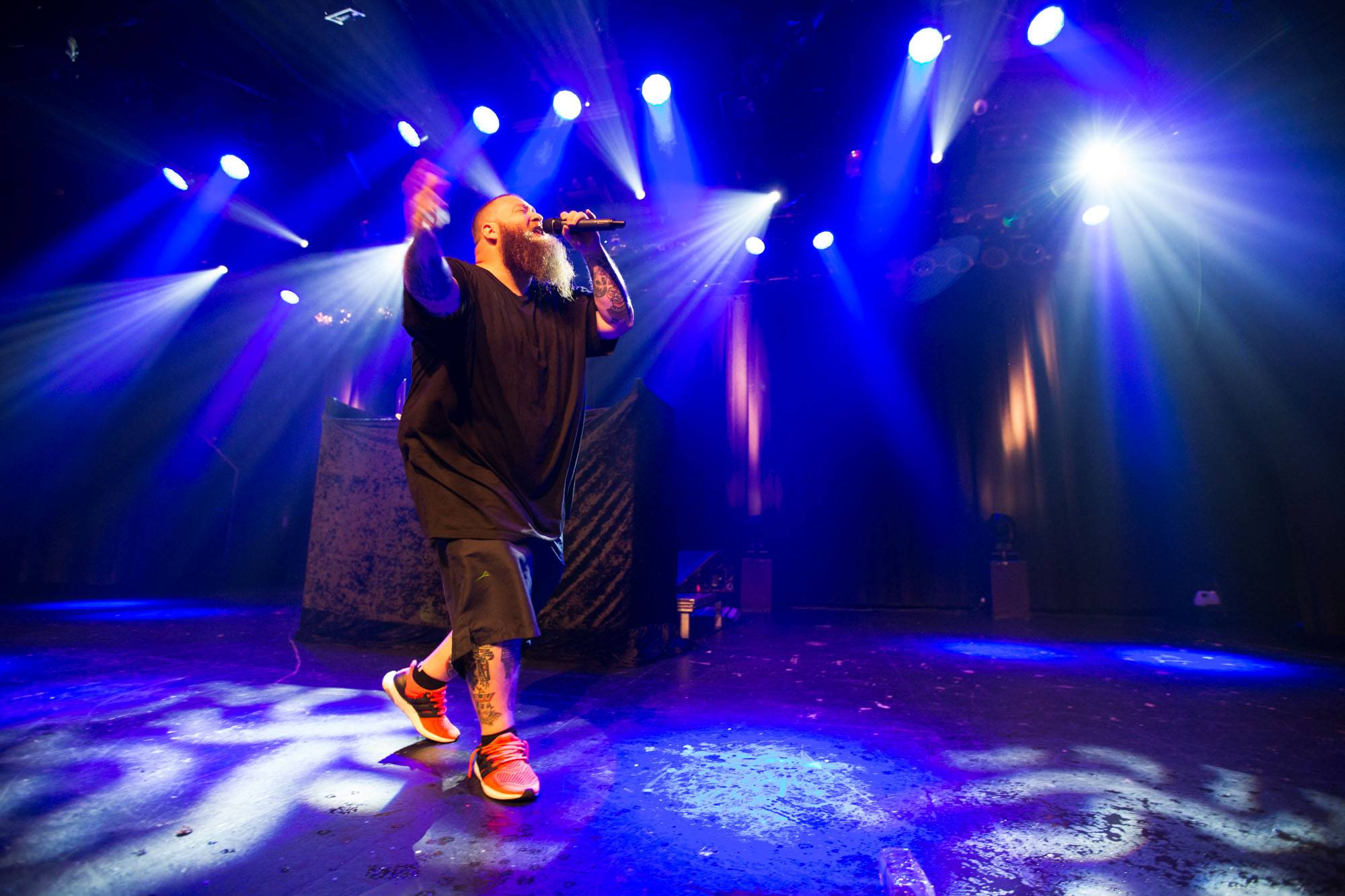 Action Bronson at the Commodore Ballroom, Vancouver, Sept. 12 2016. Kirk Chantraine photo.