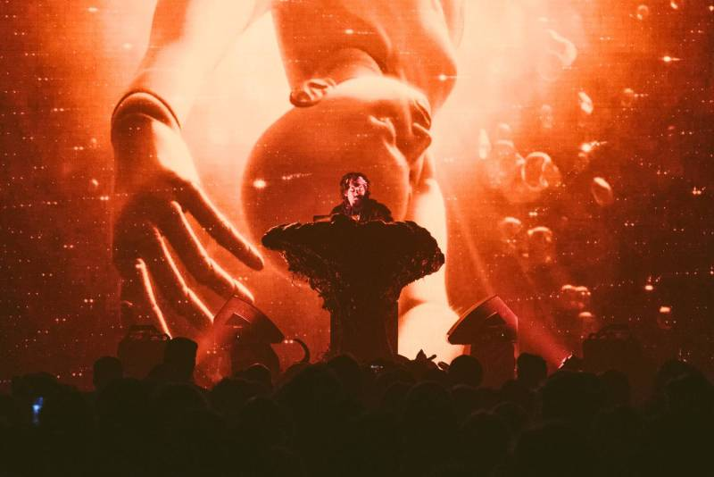 Flying Lotus at the Vogue Theatre, Vancouver, Nov 20 2017. Pavel Boiko photo.