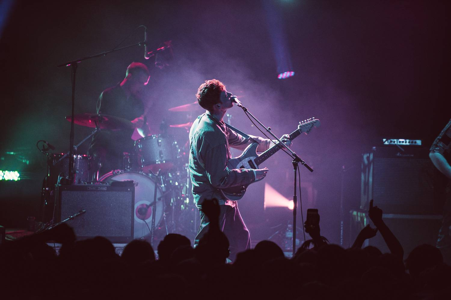 King Krule at the Vogue Theatre, Vancouver, Nov 5 2017. Pavel Boiko photo.