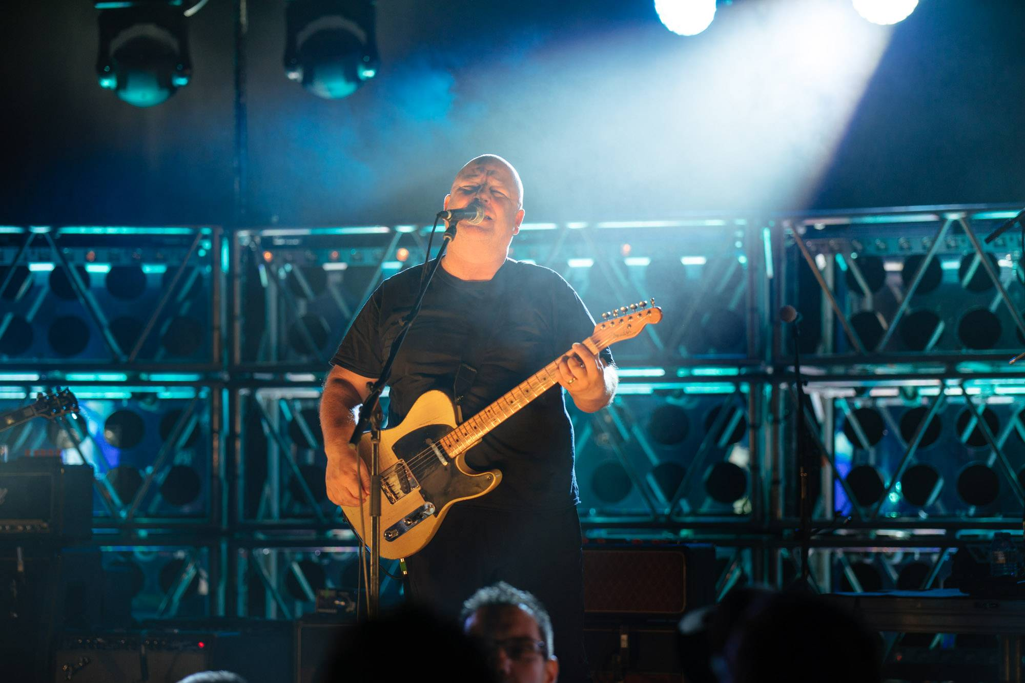 Pixies at Queen Elizabeth Theatre, Vancouver, Dec 4 2016. Dhruv Govil photo.