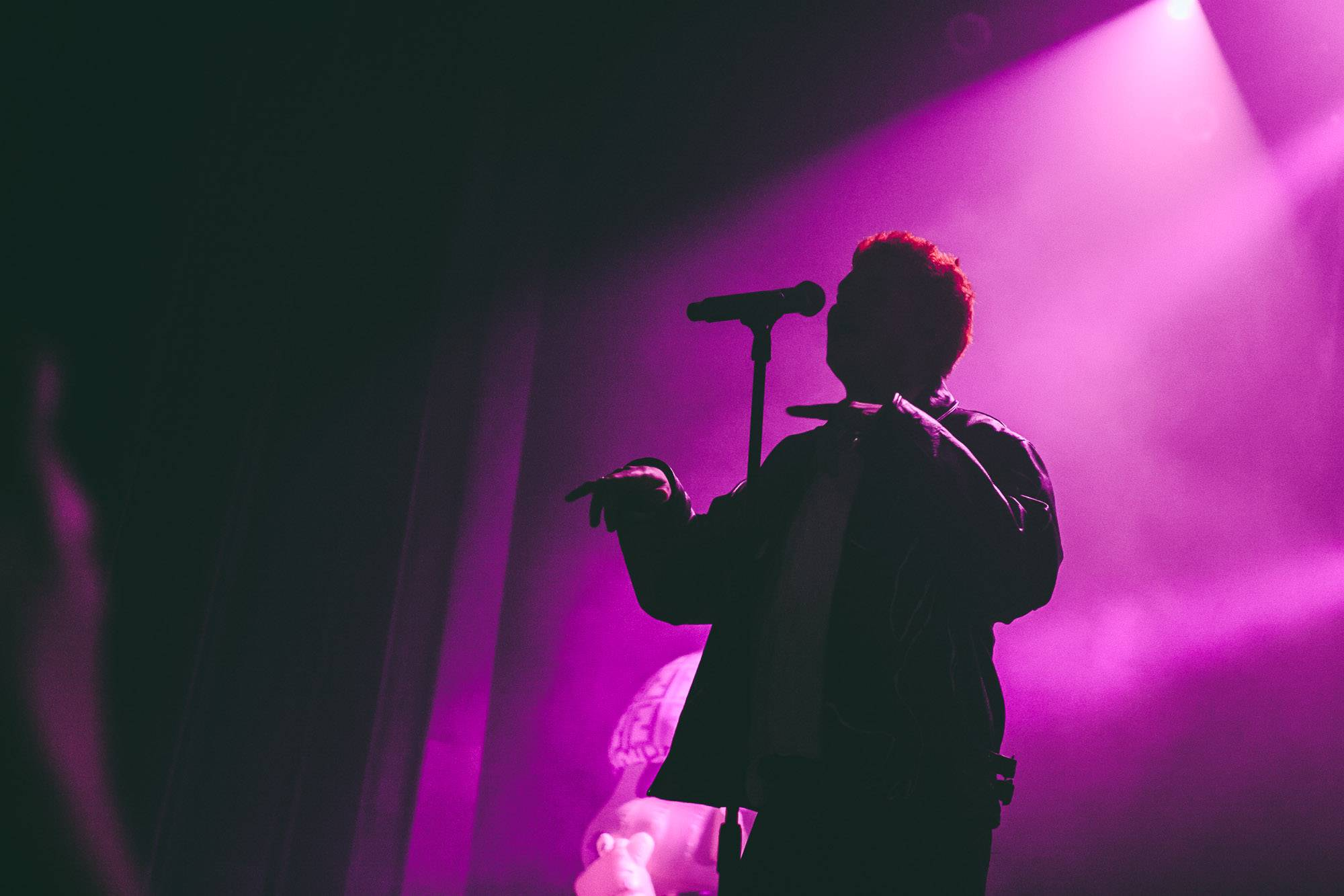 Yung Lean at the Vogue Theatre, Vancouver, Jan 24 2018. Kelli Anne photo.