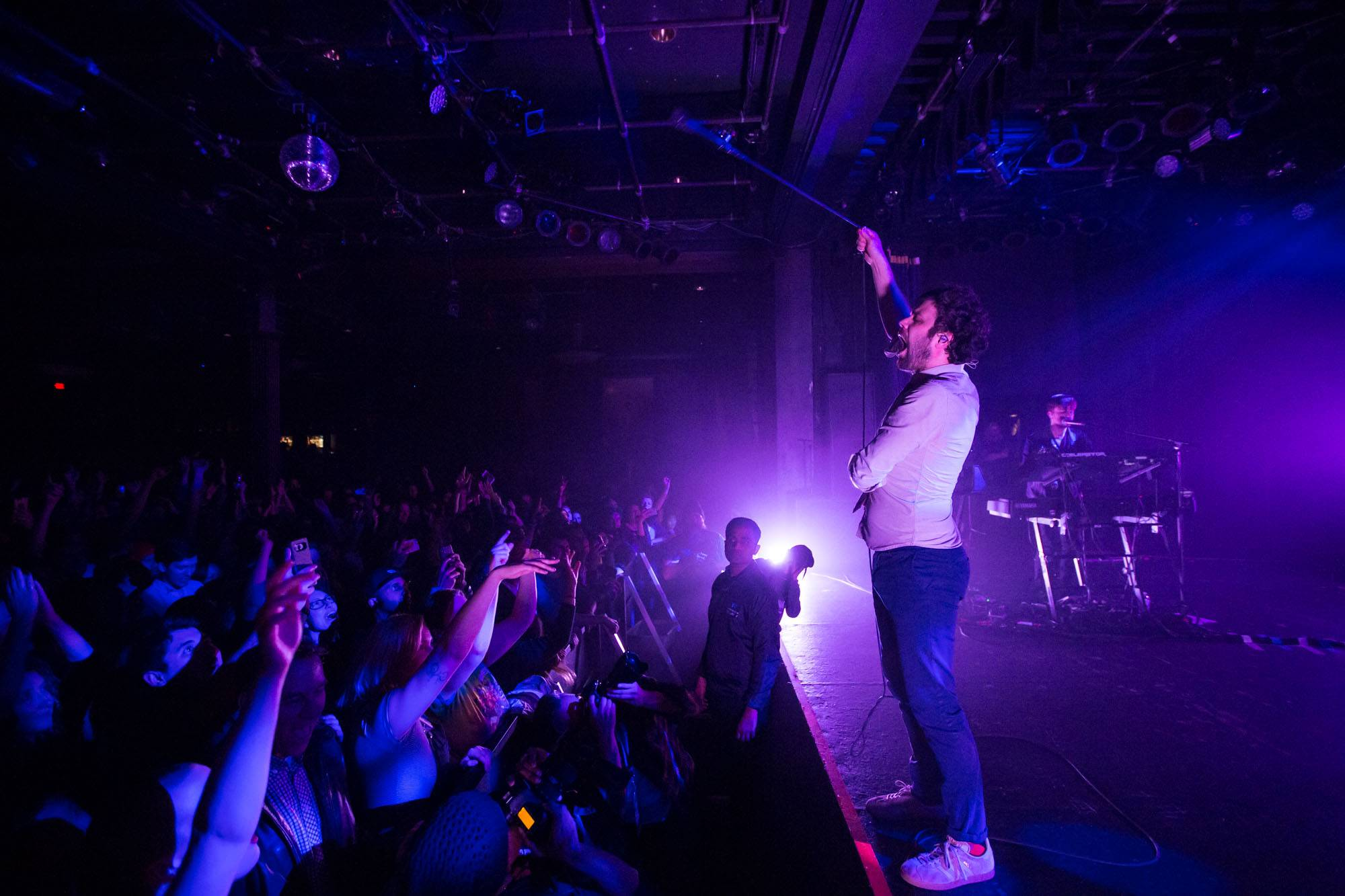 Passion Pit at the Commodore Ballroom, Vancouver, Jan 26 2018. Kirk Chantraine photo.