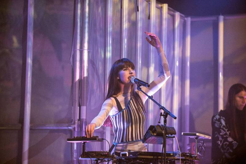 Kimbra at the Imperial, Vancouver, Feb 9 2018. Pavel Boiko photo.