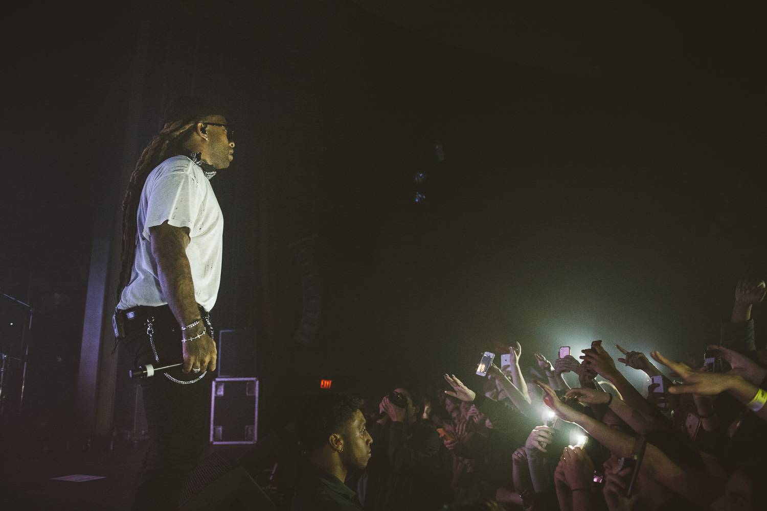 Ty Dolla Sign at the Vogue Theatre, Vancouver, Feb 28 2018. Pavel Boiko photo.