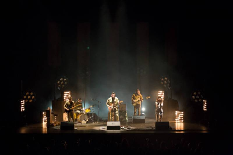 Bahamas at the Queen Elizabeth Theatre, Vancouver, Mar 1 2018. Kirk Chantraine photo.