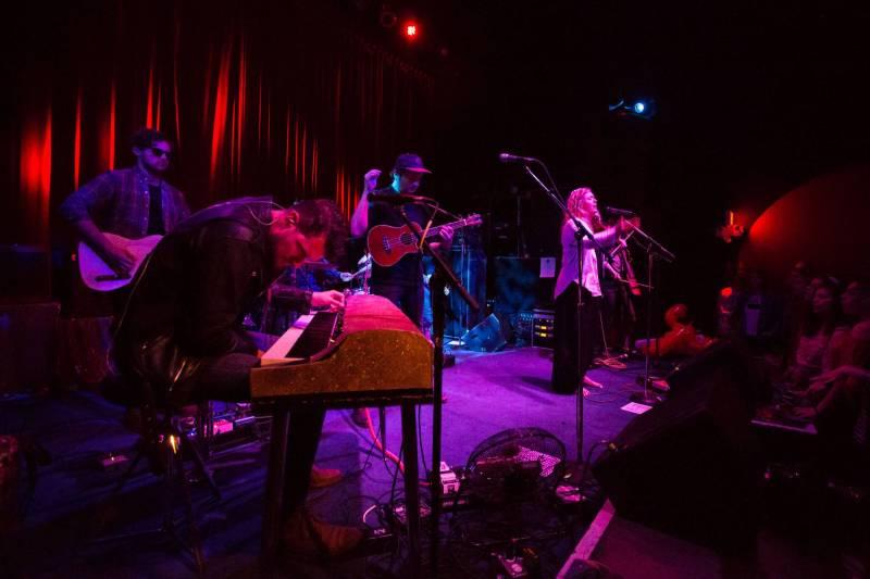Wild Child at the Fox Cabaret, Vancouver, Apr 26 2018. Kirk Chantraine photo.