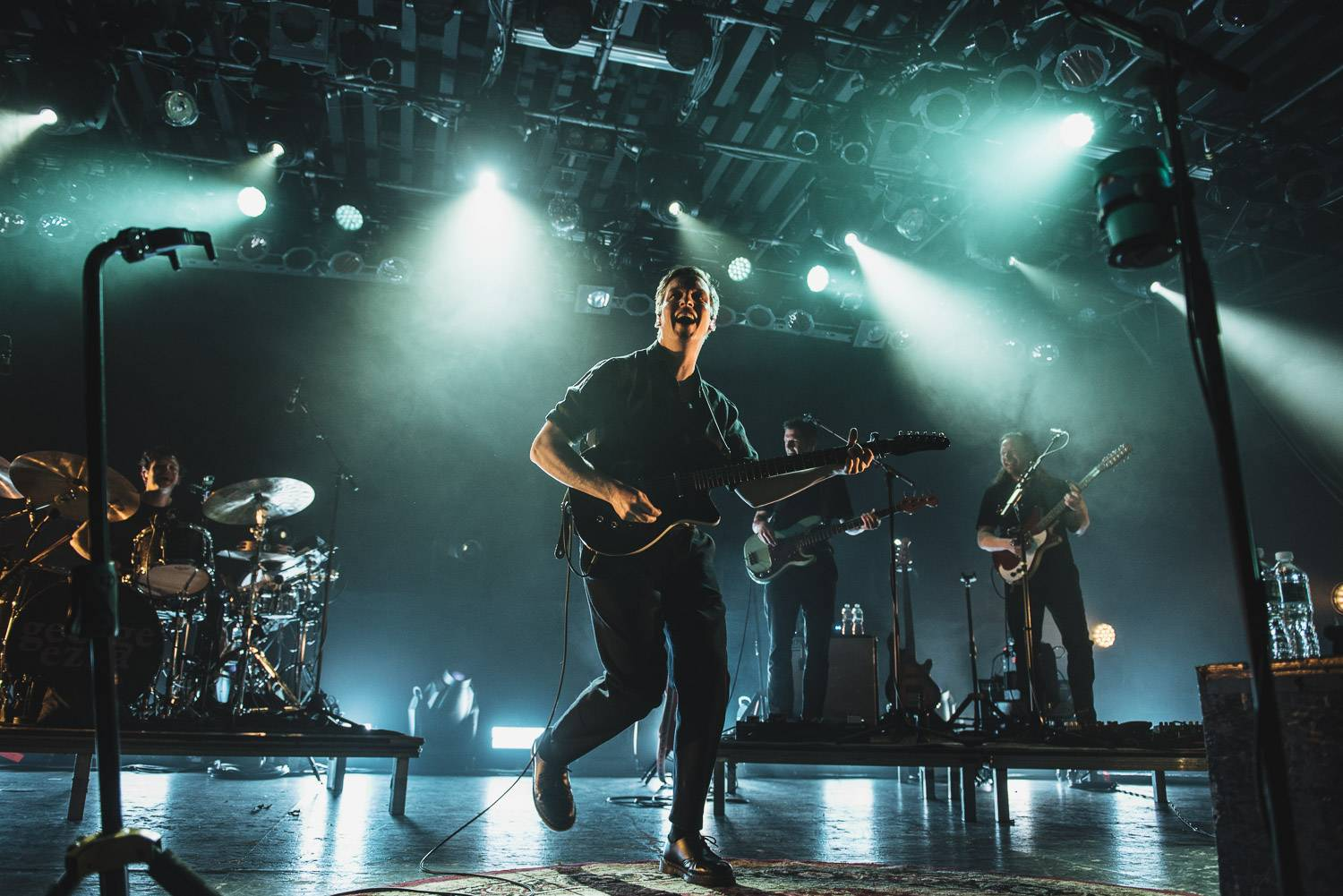 George Ezra at the Commodore Ballroom, Vancouver, May 5 2018. Pavel Boiko photo.