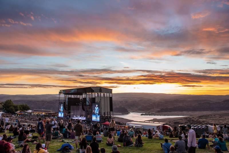 Sasquatch Music Festival 2018 - Day 1, Gorge WA, May 25 2018. Pavel Boiko photo.