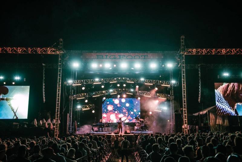 Thundercat at the Sasquatch Music Festival 2018 - Day 1, Gorge WA, May 25 2018. Pavel Boiko photo.
