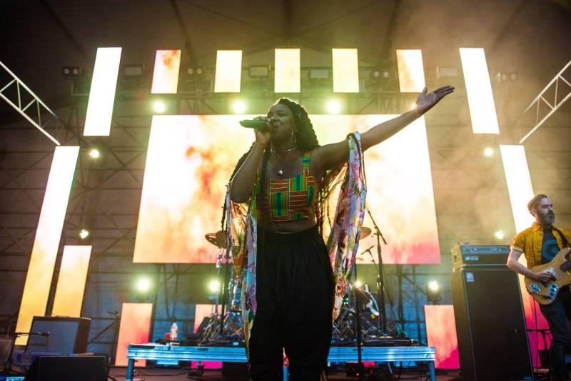 NAO at the Sasquatch Music Festival 2018 - Day 1, Gorge WA, May 25 2018. Pavel Boiko photo.