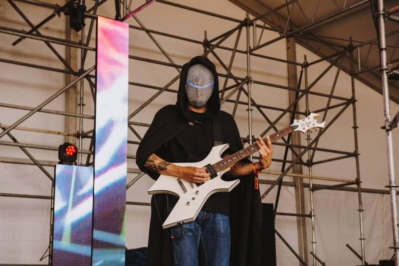 Magic Sword at the Sasquatch Music Festival 2018 - Day 1, Gorge WA, May 25 2018. Pavel Boiko photo.
