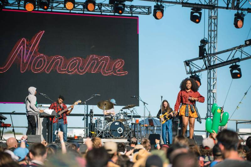 Noname at the Sasquatch Music Festival 2018 - Day 3, Gorge WA, May 27 2018. Pavel Boiko photo.