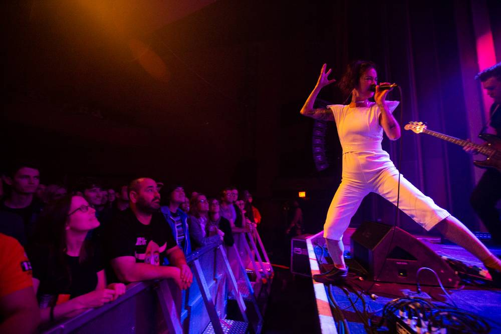 Japanese Breakfast at the Vogue Theatre, Vancouver, June 29 2018. Kirk Chantraine photos.
