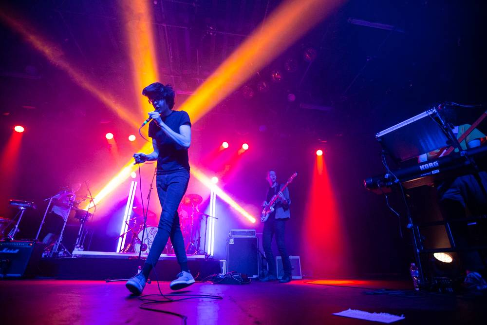 Car Seat Headrest at the Commodore Ballroom, Vancouver, July 13 2018. Kirk Chantraine photo.