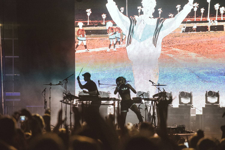 Mura Masa at the Bumbershoot Music Festival 2018 - Day1. Aug 31 2018. Pavel Boiko photo.