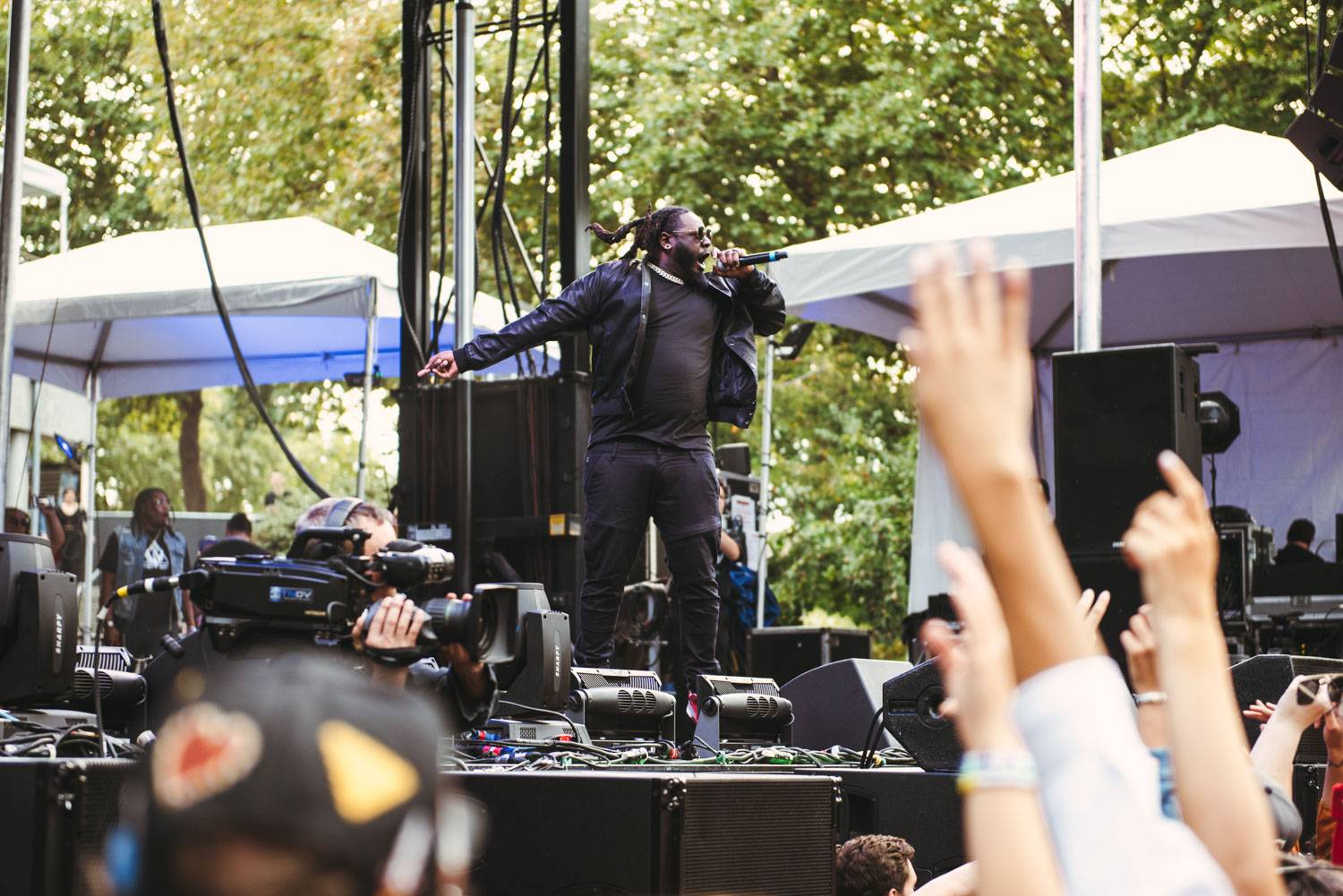 T-Pain at the Bumbershoot Music Festival 2018 - Day 2. Sept 1 2018. Pavel Boiko photo.