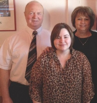 Photo of Lauren Gibilisco and her parents