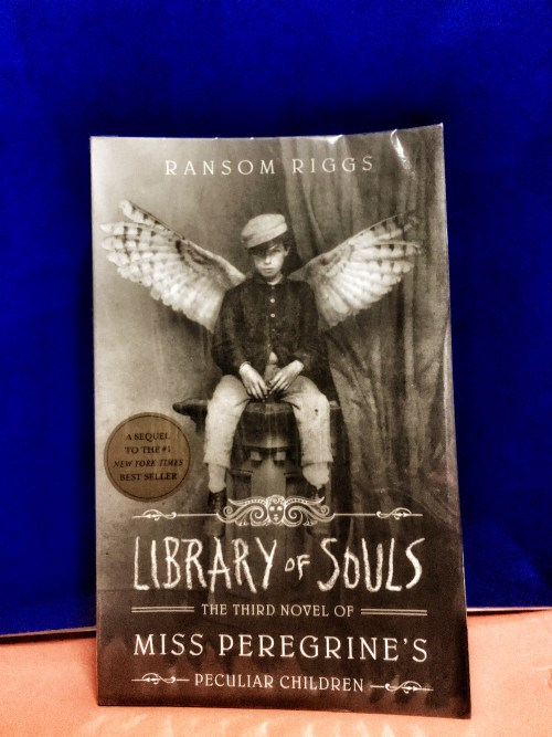 Library of Souls, the third novel of the Peculiar Children Series by Ransom Rigss