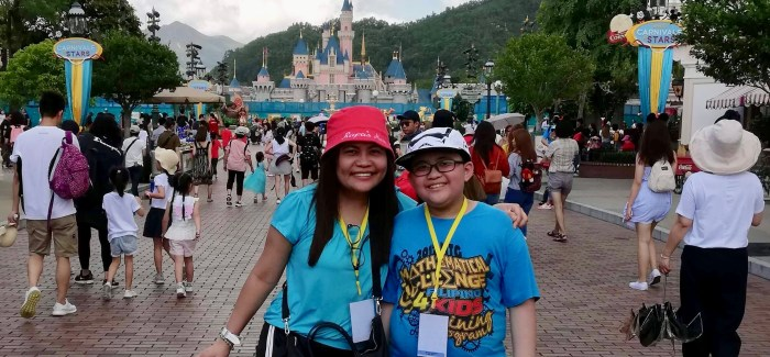 Disneyland Hong Kong with My Tween Son