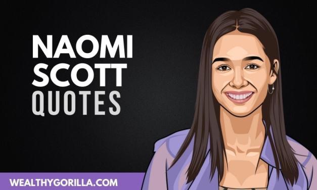 20 Inspirational Naomi Scott Quotes