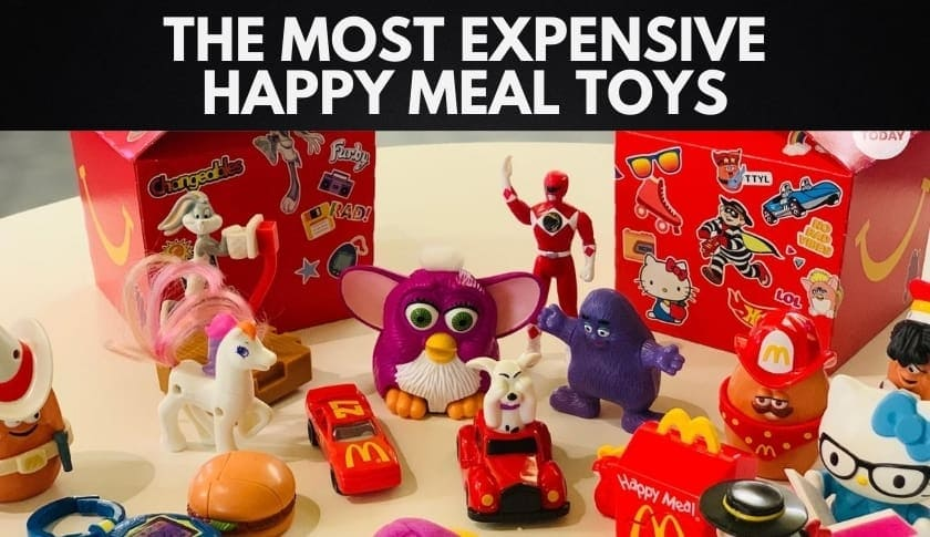 The 15 Most Expensive Happy Meal Toys from McDonald's (2020)