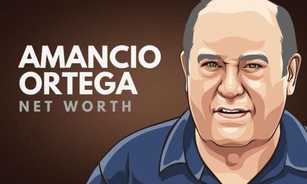 Amancio Ortega's Net Worth in 2020