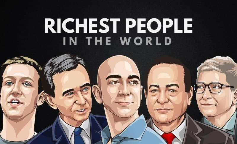 The 25 Richest People in the World 2020