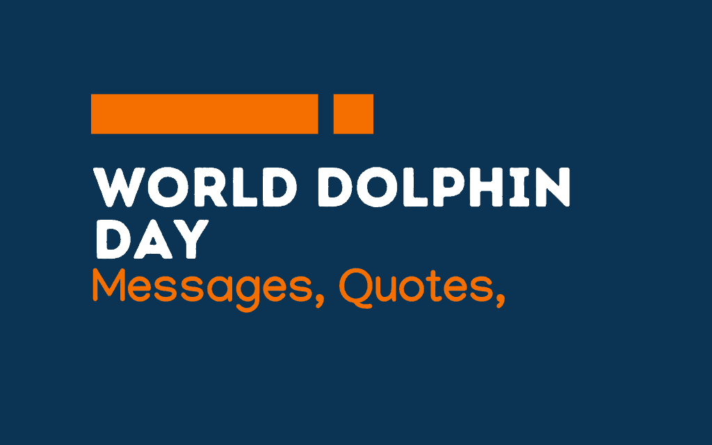 Dolphin Day: 62+ Greetings, Messages and Quotes