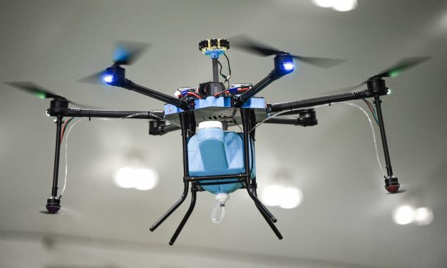Atlanta Falcons' Home Stadium Enlists Disinfecting Drones