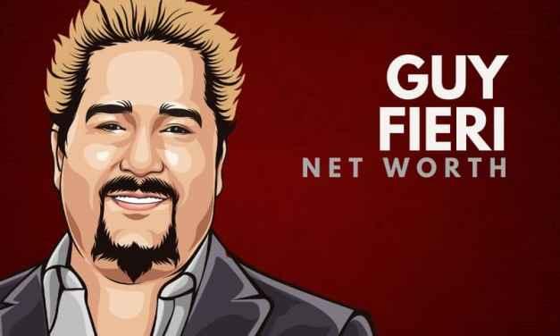 Guy Fieri's Net Worth (Updated 2021)