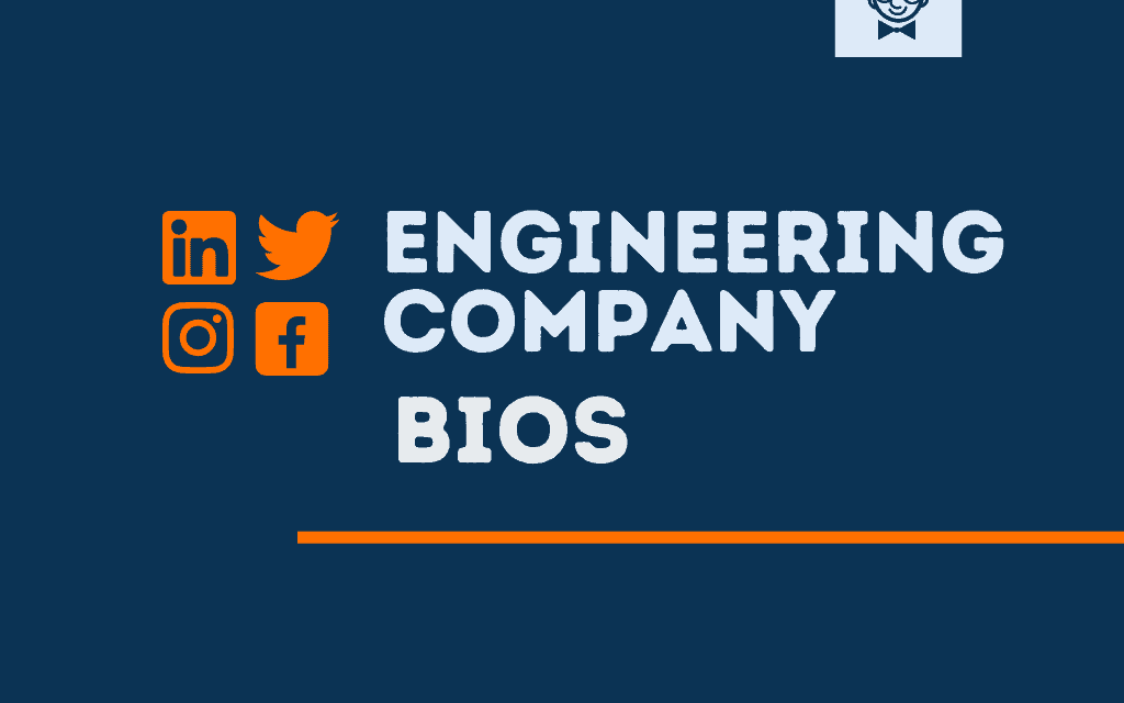 101+ Best Engineering Company bios for Social media